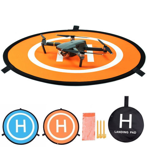 FSLabs Drone and Quadcopter Landing Pad 32 inch RC Aircraft Soft Landing Gear Surface Made of Waterproof Eco-Friendly Rubber For DJI Mavic Phantom 3 4 spark Mavic Pro Air - F/Stop Labs