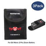 DJI Mavic 2 Pro,Zoom Battery Fireproof Lipo Satefy Bag (3 Packs) - F/Stop Labs