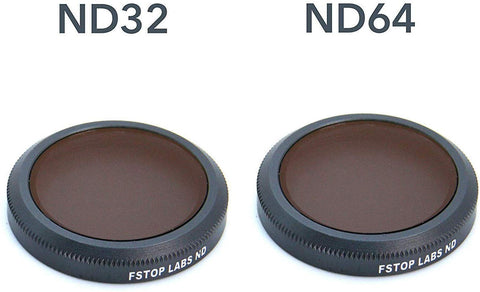 Lens Filters for DJI Mavic Air, ND 32 & ND 64 (2 Pack) - F/Stop Labs