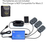 DJI Mavic 5 In 1 Rapid Battery Charger, 3 Output + 2 USB - F/Stop Labs