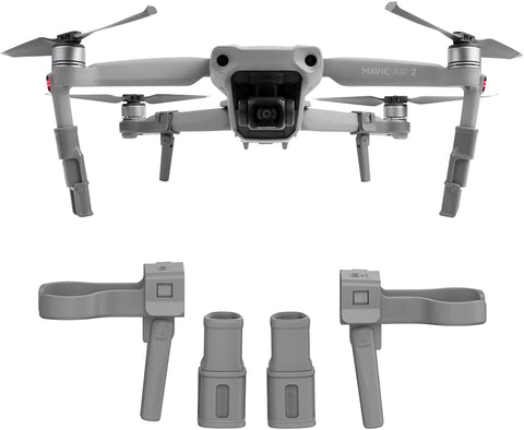 Accessories for DJI Mavic Air 2 Landing Gear Legs Height Extender Kit Riser Set Stabilizers