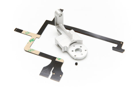 DJI Phantom 3 Gimbal Yaw Arm Replacement - Aluminum CNC, Includes Ribbon Cable + Set Screw (Pro/Adv/4K) - F/Stop Labs