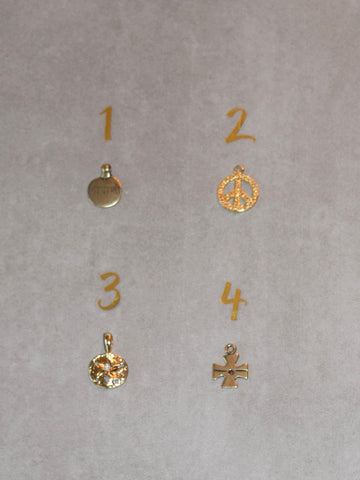 Petite Gold Charms