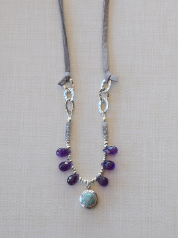 Amethyst Amor Necklace