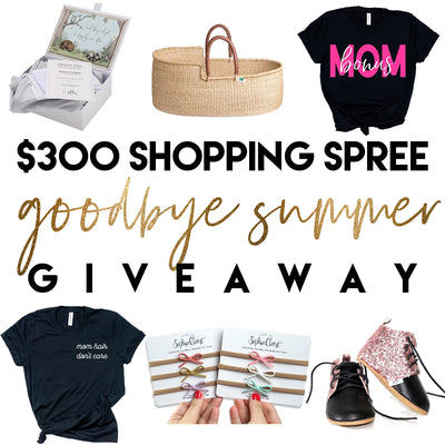"$300 ""Goodbye Summer"" Giveaway"