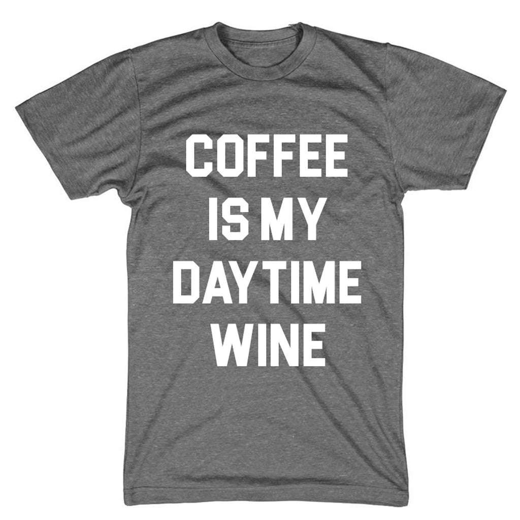 Coffee is my Daytime Wine Tee - MootsClothing, Funny, moots, kids fashion, cool kids clothes, mom life, motherhood, wine, baby clothes, children's clothes, childrens clothing, babies clothing, toddler clothing, you're my person, fashion, women's fashion, funny kids tee, mom, gift, toddler fashion, mother, parenthood, funny t shirts, funny shirts, funny shirt, coffee, humor, java, funny, caffeine, coffee jokes, coffee lover gifts, coffee t shirts, coffee shirts, kids shirts, toddler shirts, baby shirts, mom shirts, gifts for coffee lovers, gifts for wine lovers, wine shirts, coffee gifts, wine gifts, wine shirt, graphic tee,