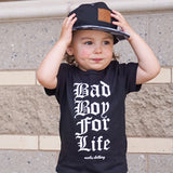 Bad Boy For Life Tee - MootsClothing, Funny, moots, kids fashion, cool kids clothes, mom life, motherhood, wine, baby clothes, children's clothes, childrens clothing, babies clothing, toddler clothing, you're my person, fashion, women's fashion, funny kids tee, mom, gift, toddler fashion, mother, parenthood, funny t shirts, funny shirts, funny shirt, coffee, humor, java, funny, caffeine, coffee jokes, coffee lover gifts, coffee t shirts, coffee shirts, kids shirts, toddler shirts, baby shirts, mom shirts, gifts for coffee lovers, gifts for wine lovers, wine shirts, coffee gifts, wine gifts, wine shirt, graphic tee,