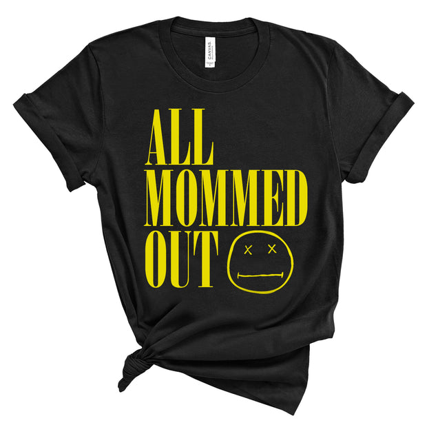 *NEW* All Mommed Out - Nirvana - Tee