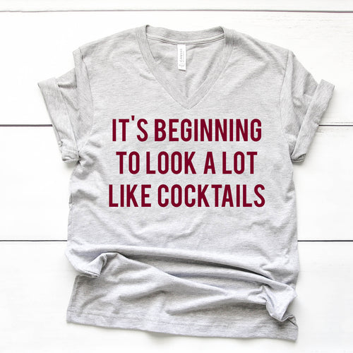 *NEW* It's beginning to look a lot like cocktails Tee + Sweatshirt