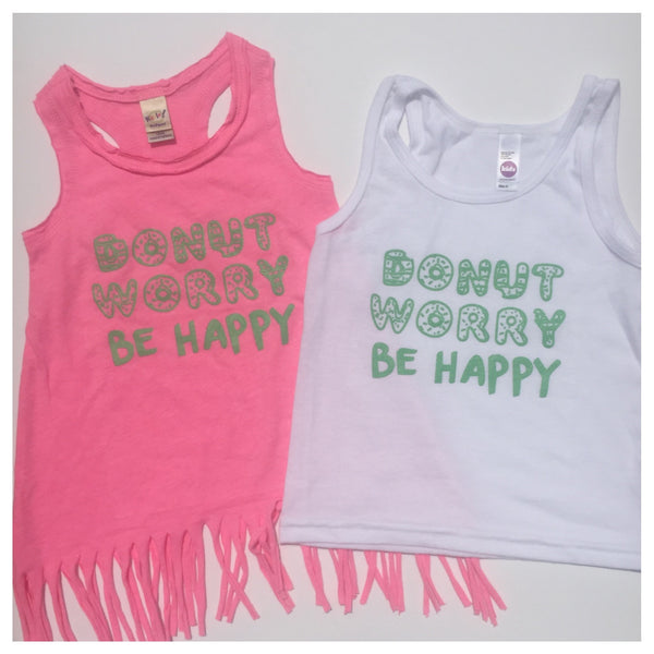 Donut Worry, Be Happy Fringe Dress