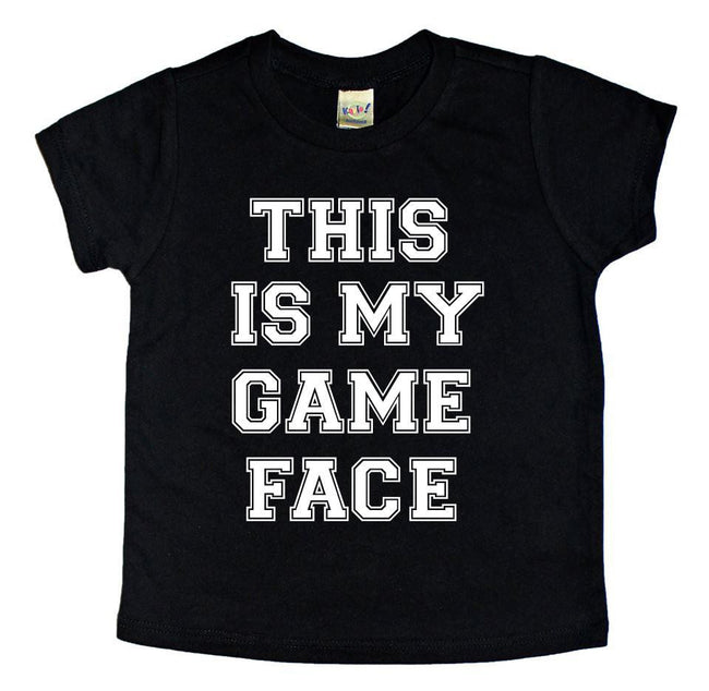 THIS IS MY GAME FACE TEE
