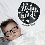 Sleepyhead (Pillowcase) - MootsClothing, Funny, moots, kids fashion, cool kids clothes, mom life, motherhood, wine, baby clothes, children's clothes, childrens clothing, babies clothing, toddler clothing, you're my person, fashion, women's fashion, funny kids tee, mom, gift, toddler fashion, mother, parenthood, funny t shirts, funny shirts, funny shirt, coffee, humor, java, funny, caffeine, coffee jokes, coffee lover gifts, coffee t shirts, coffee shirts, kids shirts, toddler shirts, baby shirts, mom shirts, gifts for coffee lovers, gifts for wine lovers, wine shirts, coffee gifts, wine gifts, wine shirt, graphic tee,