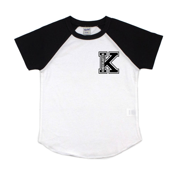 Collegiate Kindergarten Short Sleeve