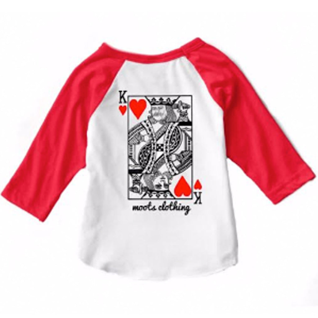 King of Hearts Raglan