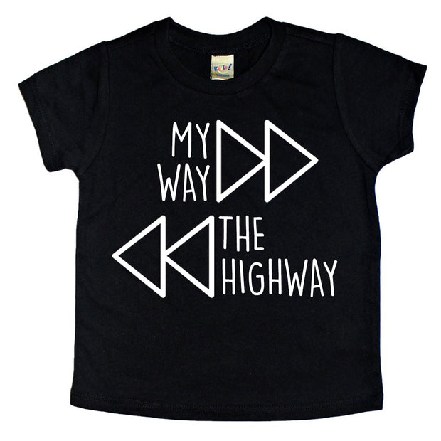 MY WAY >> HIGHWAY SHORT SLEEVE TEE