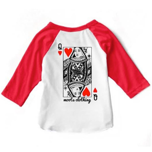 Queen of Hearts Raglan
