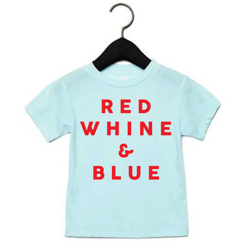 *NEW* Red Whine & Blue Tee
