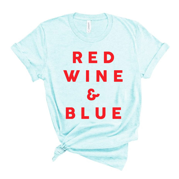 RED WINE & BLUE - Tee