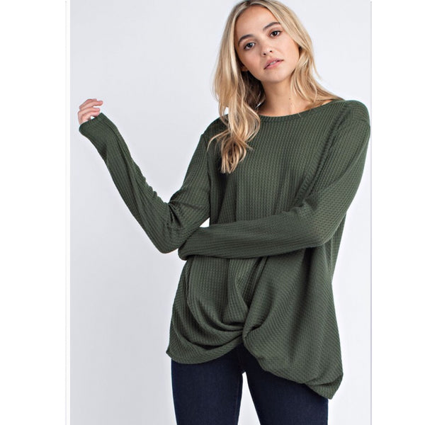 *NEW* Olive Pullover