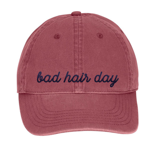 Bad Hair Day Hat - Mauve