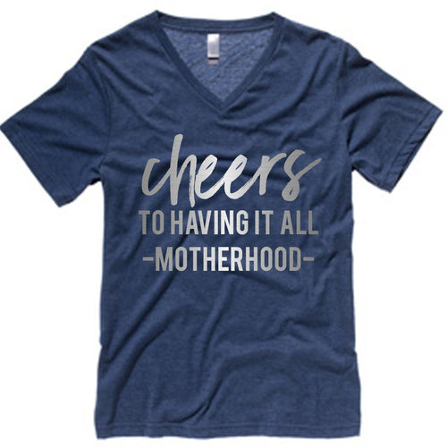 CHEERS TO HAVING IT ALL tee - MootsClothing, Funny, moots, kids fashion, cool kids clothes, mom life, motherhood, wine, baby clothes, children's clothes, childrens clothing, babies clothing, toddler clothing, you're my person, fashion, women's fashion, funny kids tee, mom, gift, toddler fashion, mother, parenthood, funny t shirts, funny shirts, funny shirt, coffee, humor, java, funny, caffeine, coffee jokes, coffee lover gifts, coffee t shirts, coffee shirts, kids shirts, toddler shirts, baby shirts, mom shirts, gifts for coffee lovers, gifts for wine lovers, wine shirts, coffee gifts, wine gifts, wine shirt, graphic tee,