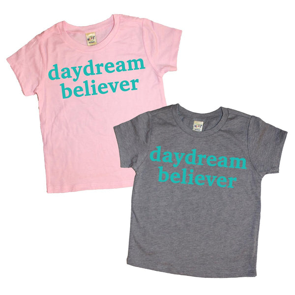 Daydream Believer - MootsClothing, Funny, moots, kids fashion, cool kids clothes, mom life, motherhood, wine, baby clothes, children's clothes, childrens clothing, babies clothing, toddler clothing, you're my person, fashion, women's fashion, funny kids tee, mom, gift, toddler fashion, mother, parenthood, funny t shirts, funny shirts, funny shirt, coffee, humor, java, funny, caffeine, coffee jokes, coffee lover gifts, coffee t shirts, coffee shirts, kids shirts, toddler shirts, baby shirts, mom shirts, gifts for coffee lovers, gifts for wine lovers, wine shirts, coffee gifts, wine gifts, wine shirt, graphic tee,