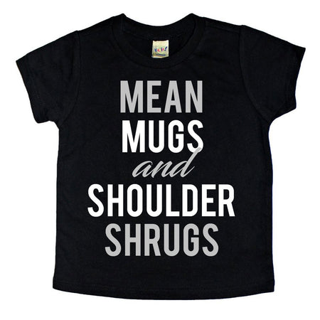 MEAN MUGS + SHOULDER SHRUGS Tank - 12M, 2T, 3T