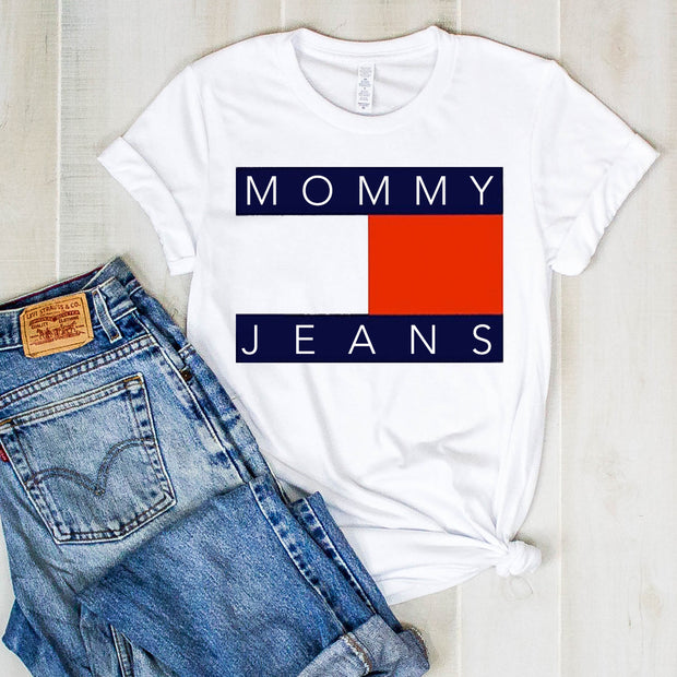 *NEW* Mommy Jeans Short Sleeve