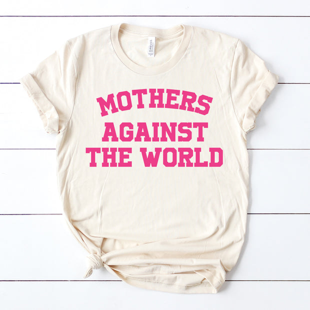 *NEW* Mothers Against the World Tee - Cream