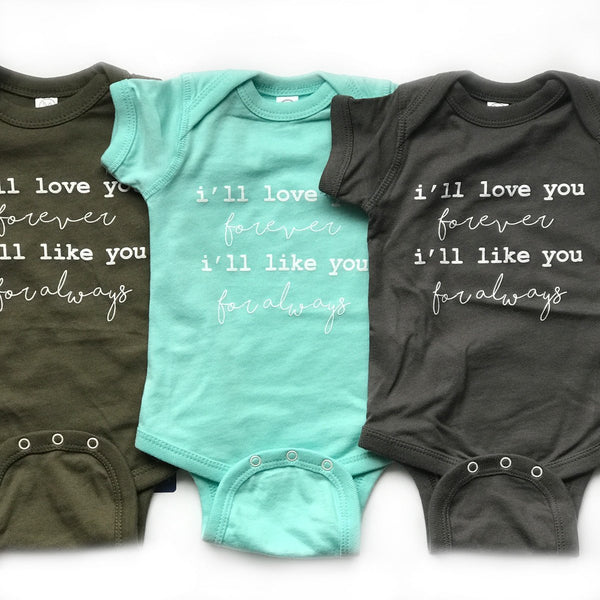 Love You Forever Onesie + Tee