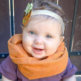 Pumpkin Spice Snap Scarf - MootsClothing