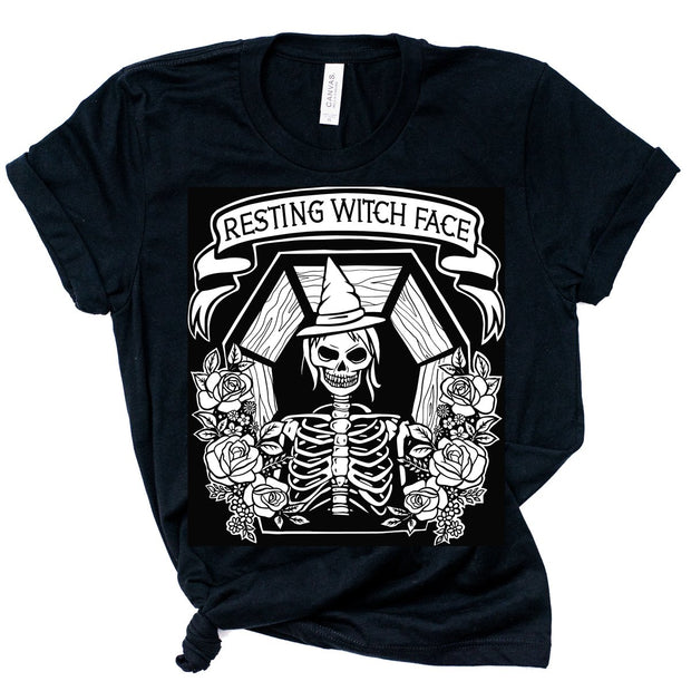 RESTING WITCH FACE SHORT SLEEVE