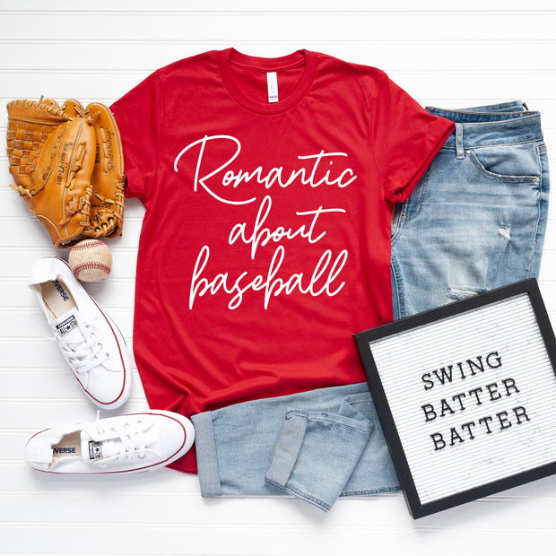 *NEW* Romantic about baseball Short Sleeve/Tank