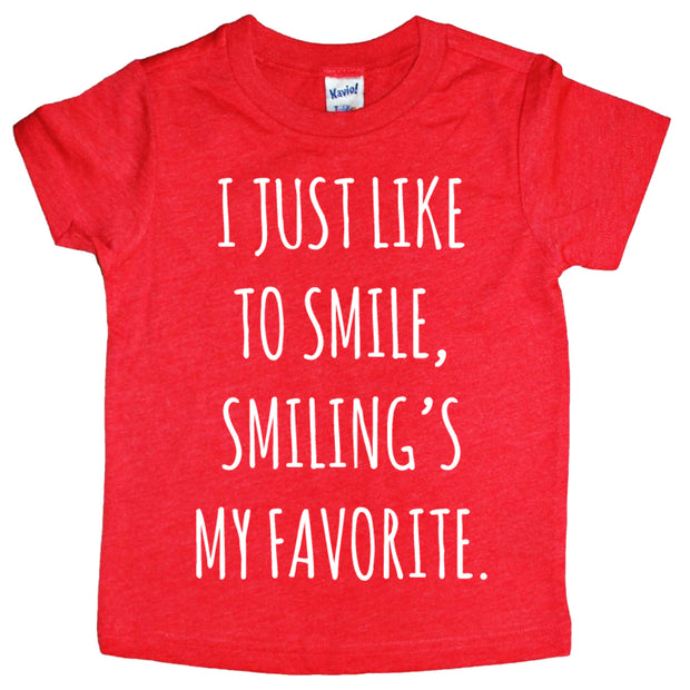 Smiling's my favorite Tee