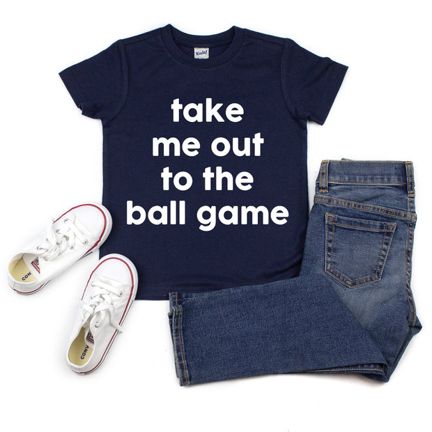 *NEW* Take me out to the Ball Game Tee
