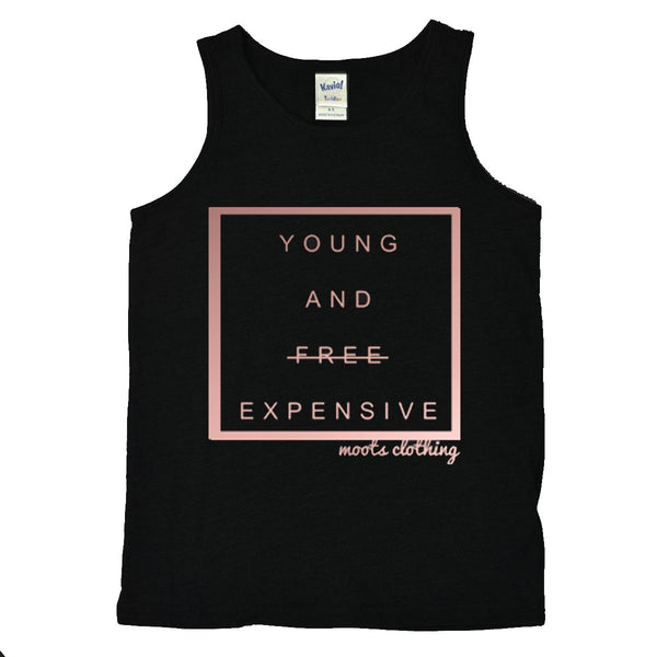 Young + Expensive Tank (Rose Gold - Limited Edition!)
