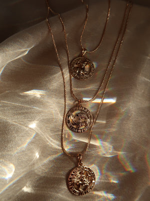 18K ZODIAC NECKLACE - Esah and Co