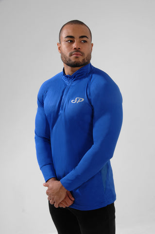 AirFlo 1/4 Zip Pullover - Royal Blue