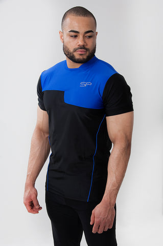ShapePro Verge T-shirt - Blue