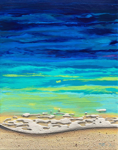 Beached 14 11x14 Painting