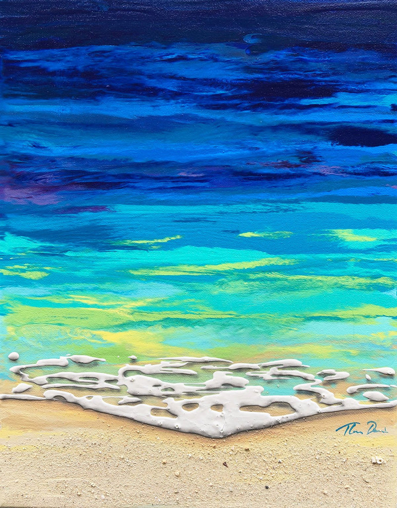 16 Beached 11x14 Painting