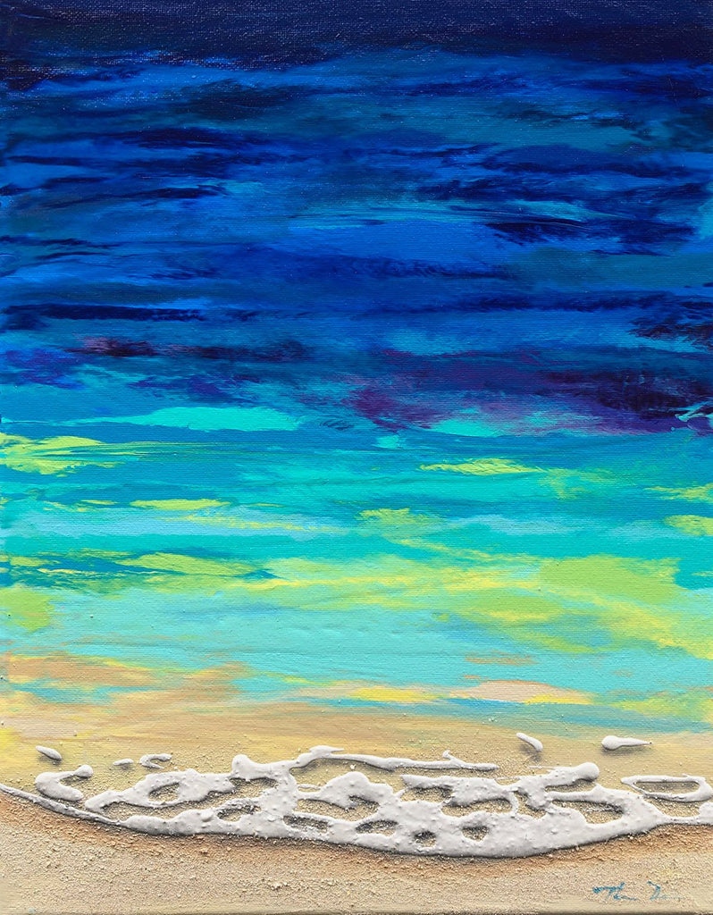 17 Beached 11x14 Painting
