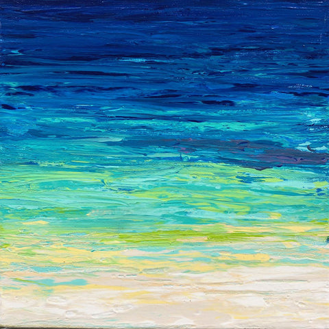 Beached 2 12x12 Painting