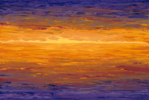 2 Sunrise Sunset 20x30 Painting