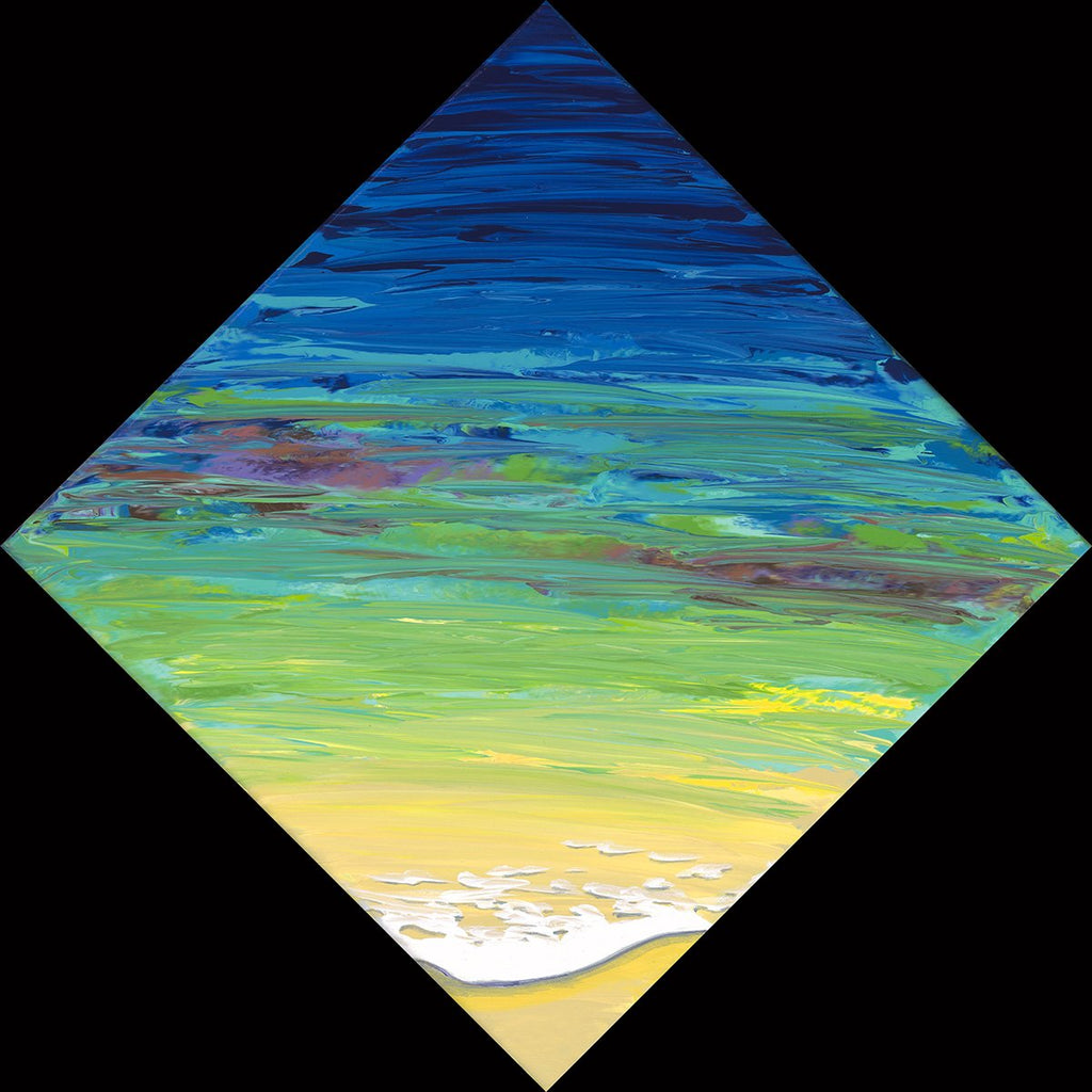 Beached Diamond 38 12x12 Painting