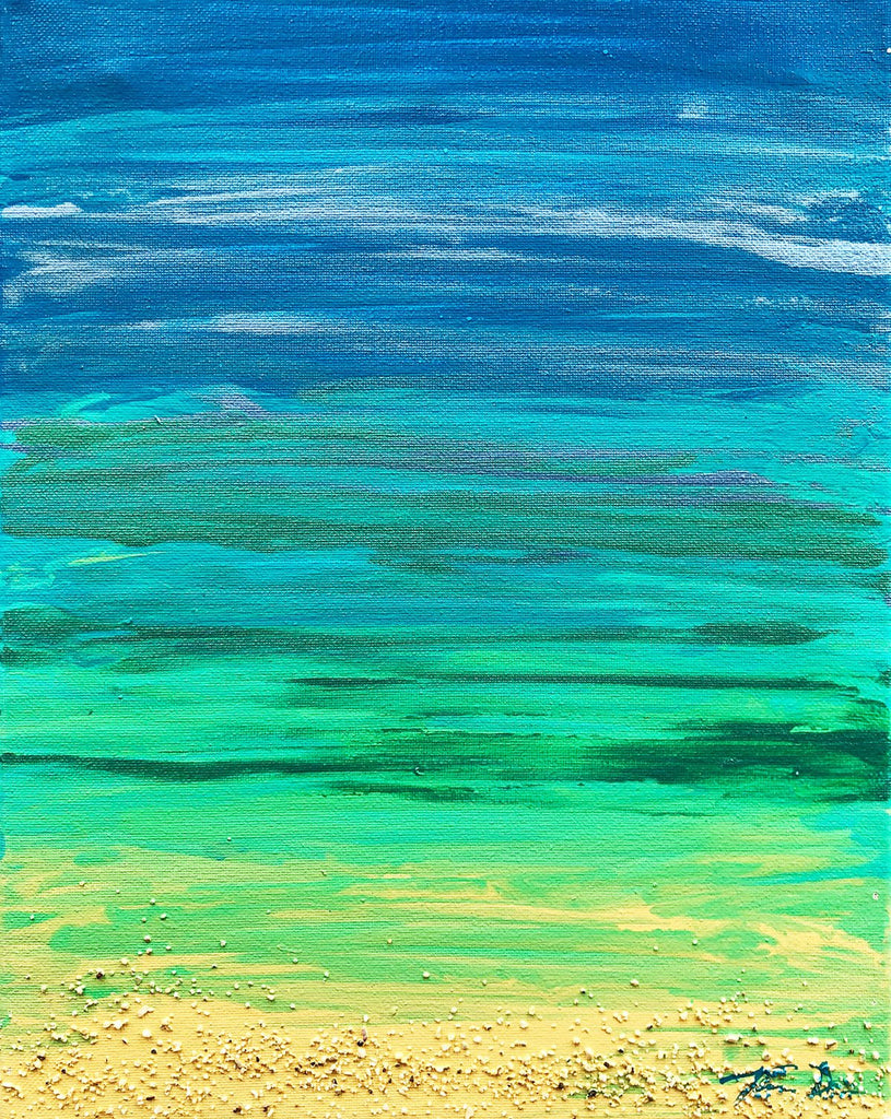 Beached 4 11x14 Painting