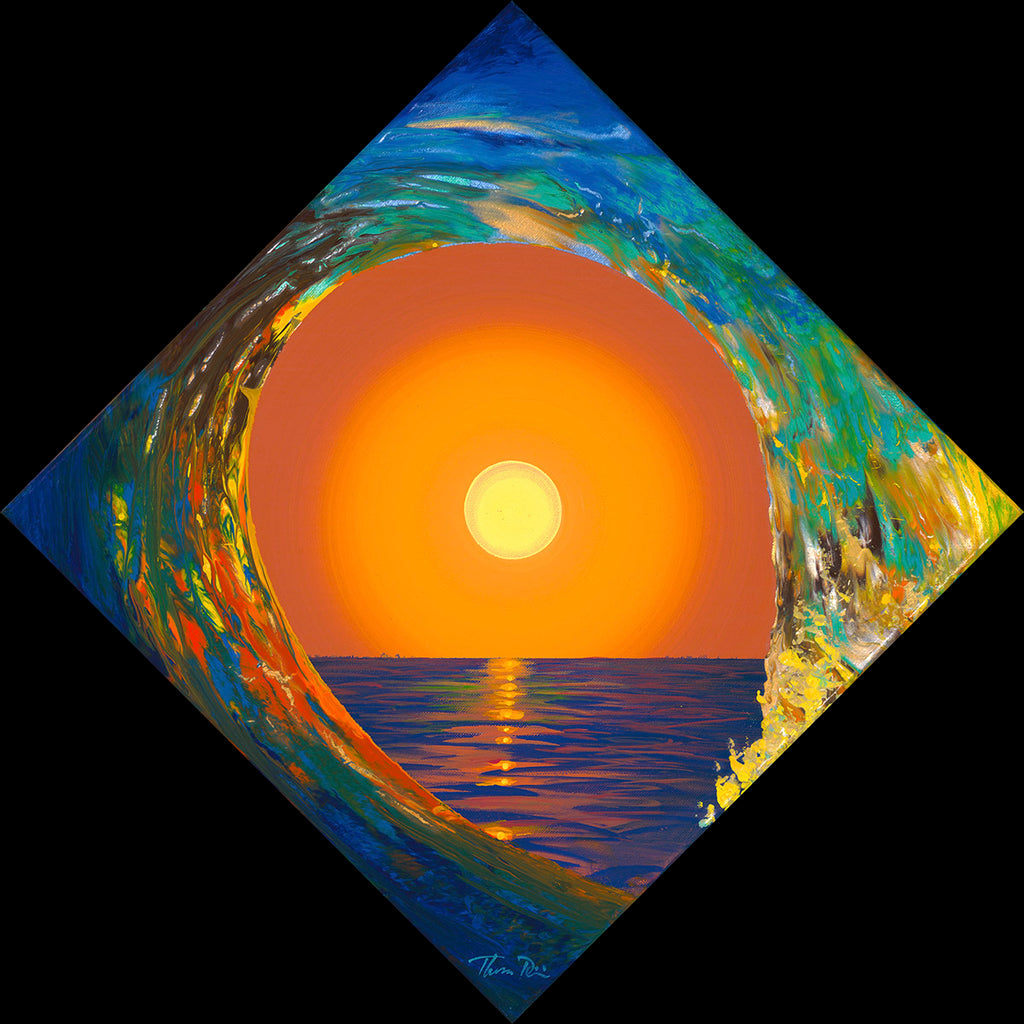 Diamond Sun Wave 55 Giclee