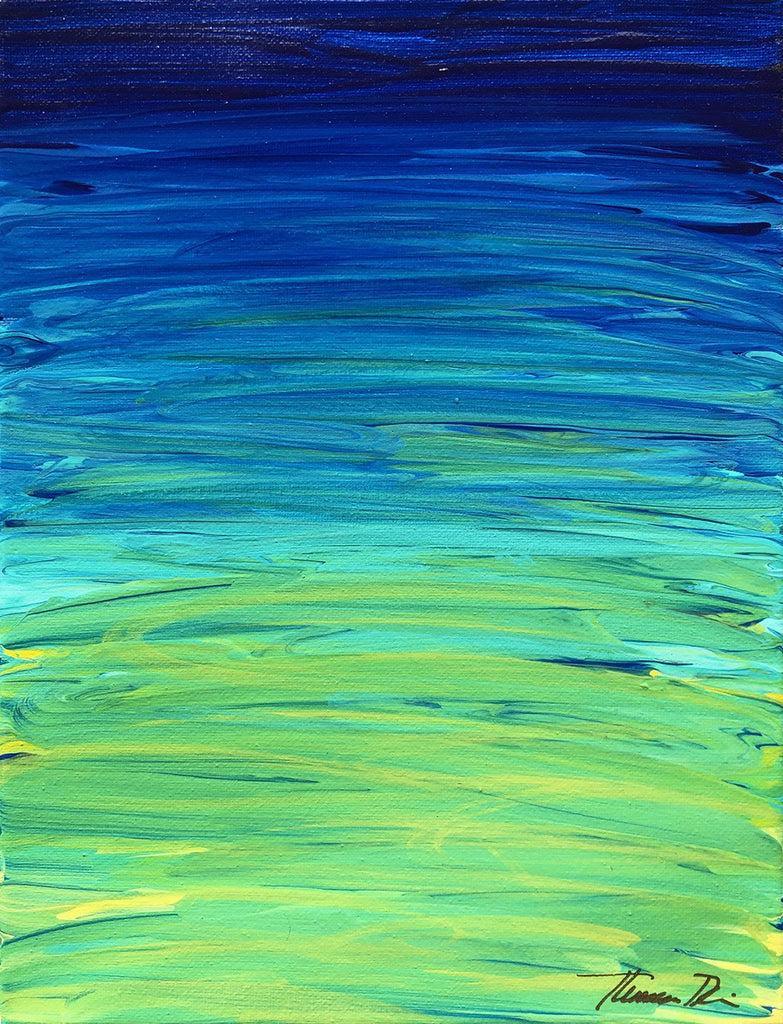 55 Ocean Reflection Painting