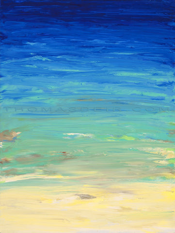 Beached 3 18x24 Painting