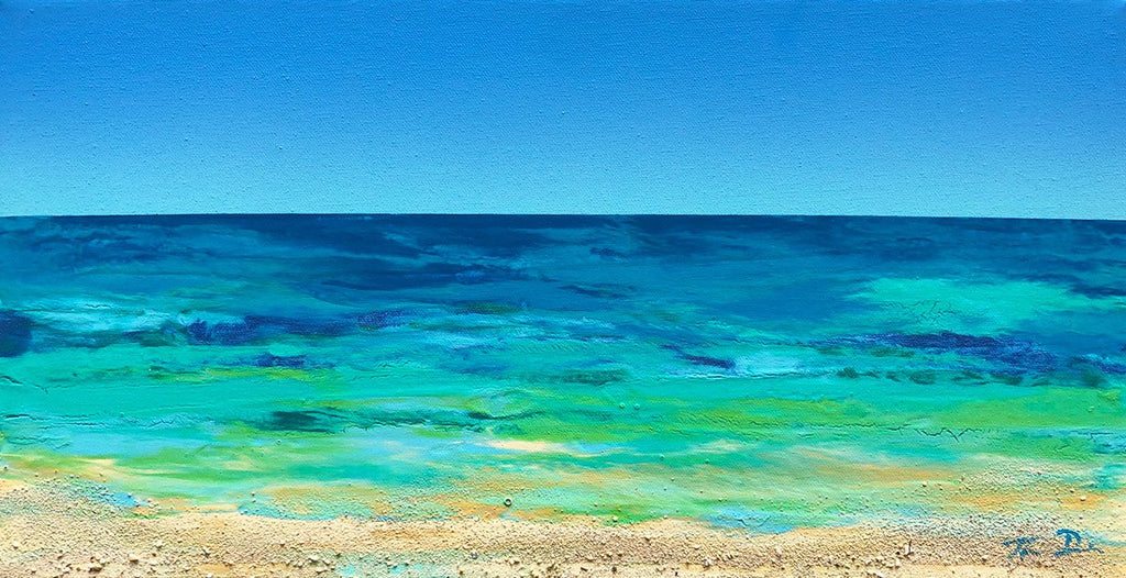 Beached 1 10x20 Painting